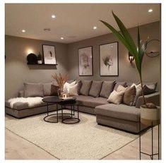 Interior Design Living Room Warm, Decor Home Living Room, Home Room Design, Modern Farmhouse Living Room Decor, Living Room Modern, Small Living, Country Living, Living Room Furniture, Farmhouse Decor