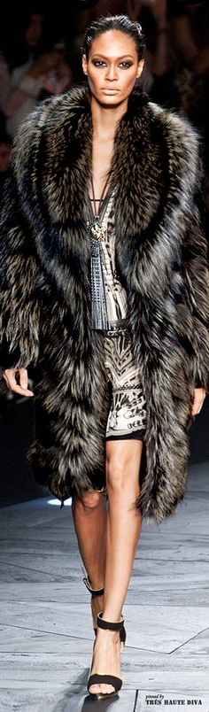 Roberto Cavalli Fall/Winter 2014 | Furs everywhere bykoket.com/home.php