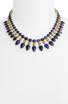 "Lapis Lazuli ""Cleopatra"" necklace. I love anything remotely Ancient Egyptian."