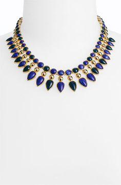 "Lapis Lazuli ""Cleopatra"" necklace."