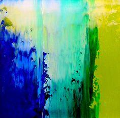 Zé Luiz Morais. Abstrata, oil on paper 5x5 cm, catálogo: AbstOilPap49MartiusXVII. Técnica estratigráfica: camadas de tinta sobrepostas, aplicadas em bandas verticais e horizontais, esfregadas, borradas e raspadas; acabamento da superfície: textura lisa. Instrumento: espátula.