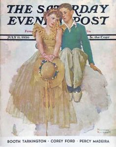 Saturday Evening Post Covers #700-749
