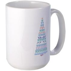 Marine Christmas Tree Mug on CafePress.com