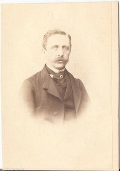 F. Boeck CDV photo Herrenportrait - Greifswald 1860er | eBay