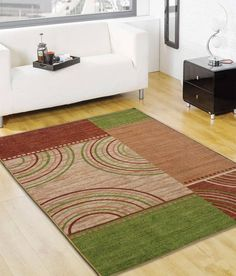 Buy Multi Colored Modern Taba Rug by Status At From Pepperfry - Loot Deals India Carpet Flooring, Rugs On Carpet, Carpets, 4x6 Rugs, Nylon Carpet, Principles Of Design, Tabata, Open Floor, Abstract Pattern
