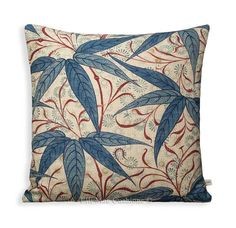 Another beautiful, professionally made quality cushion cover from Elli Mae Designer Cushions. These cushion covers are in a William Morris Bamboo in the Indigo Woad colourway from the Archive 11 Prints collection and they are backed in the same fabric. Our covers are all carefully made by us in our workshops using industrial machines. We take great care to ensure that each item passes our strict quality checks. All edges are over-locked for strength and to prevent fraying, all cushions have…