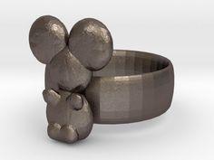 koala ring by lokilaufeysen http://thingiverse.com/thing:450021
