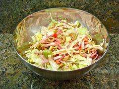 Salad 1905 Salad at the Columbia Salad at the Columbia Restaurant Food Network Recipes, Cooking Recipes, Healthy Recipes, Salad Bar, Soup And Salad, 1905 Salad Recipe, Columbia Restaurant, Vintage Recipes, Copycat Recipes