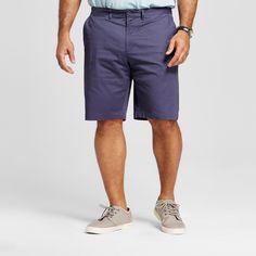 Men's Big & Tall Club Shorts Blue 58 - Merona