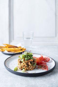 Pureed Food Recipes, Vegetarian Recipes, Cooking Recipes, Healthy Recipes, Food Inspiration, Mozzarella, Food Photography, Veggies, Healthy Eating