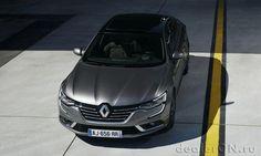 Седан Renault Talisman / Рено Талисман – вид спереди