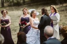 Colorado Mountain Wedding Photos Wiccan Wedding, Bridesmaid Dresses, Wedding Dresses, Carrie, Wedding Ceremony, Colorado, Wedding Photos, Wedding Inspiration, Mountain