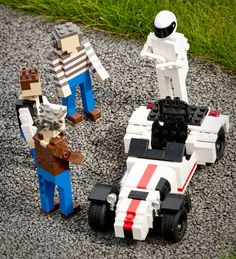 The TG boys and Stig...in Lego