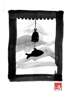 fishing bell in Korea Sumi E Painting, Movie Characters, Cinema, Fishing, Korea, Art, Art Background, Movies, Kunst