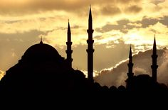 Mosque Silhouette - Istanbul