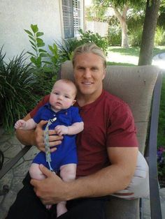 clay matthews with a baby!!