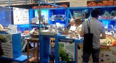 Stand de La Ortiga en II Feria de productos ecológicos de la Provincia de Sevilla 2016