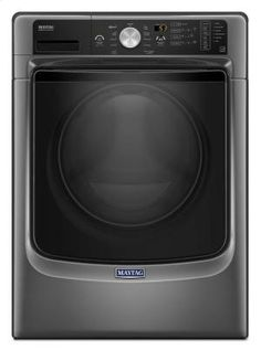 MHW5500FC in Metallic Slate by Maytag in Garner, NC - Front Load Washer with Fresh Hold® Option and PowerWash® System - 4.5 cu. ft.