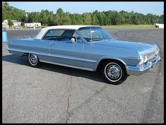1963 Chevrolet Impala SS  283 CI, Automatic if i couldnt have a vw van this is the car i would want