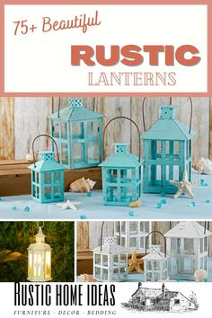 Rustic lanterns are a great accessory to decorate with and add a charming touch at a very low cost. View our large selection of styles, sizes and finishes. Find the perfect one for your design. Rustic Lanterns, Invitation Design, Furniture Decor, Are You The One, Your Design, Touch, Beautiful, Home, Ad Home