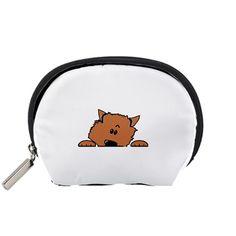 Peeping+Pomeranian+Accessory+Pouches+(Small)++Accessory+Pouch+(Small)