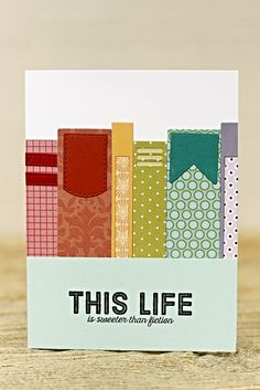 This Life Card by Erin Lincoln for Papertrey Ink (July 2015)