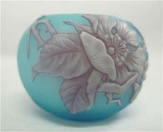 Thomas Webb Cameo Glass Vase Antique | RARE ANTIQUE ENGLISH 3 COLOR CAMEO GLASS VASE by THOMAS WEBB CIRCA ...