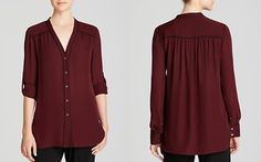 Vince Blouse - Contrast Piping