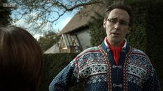 Holby City: Welcome to our beginning Guy Henry, Holby City, Swedish Style, Marriage, Men Sweater, Guys, Valentines Day Weddings, Men's Knits, Weddings
