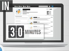 How to Rock Social Media in 30 Minutes a Day [INFOGRAPHIC]