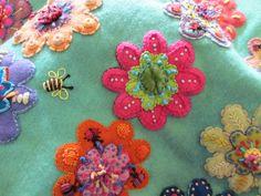 amitie textiles: Sue Spargo visit
