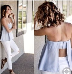 Amber - Tobi Strapless Top, Zara White Jeggings, Free People Sandals - Blue and… Look Fashion, Diy Fashion, Fashion Dresses, Womens Fashion, Fashion Ideas, Summer Outfits, Casual Outfits, Cute Outfits, Strapless Tops