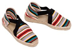 Roguishly erudite – NEUS – she's earned her stripes   NEUS espadrilles made in Spain at www.espadrillesetc.com