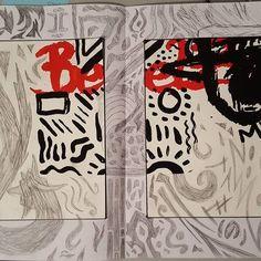 Petit bricollage avec le reste des travaux de sérigraphie 🖒🖒#remake Images, Photo And Video, Drawings, Pictures, Instagram, Decor, Drawing Drawing, Photos, Decoration