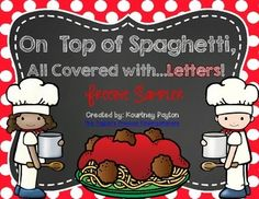 Are you practicing upper and lowercase letters with your students?How about beginning sounds?  These practice sheets are for you!What's included?This freebie sampler includes 2 independent practice sheets. 1 - Matching lowercase letters with uppercase letters1 - Matching beginning sound with picturesThis freebie sampler comes from On Top of Spaghetti, All Covered with...Letters! .