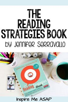 In this post, I share different strategies from Jennifer Serravallo's new book, called The Reading Strategies Book. The Reading Strategies Book, Writing Strategies, Reading Lessons, Reading Resources, Reading Skills, Teaching Reading, Guided Reading, Reading Comprehension, Close Reading