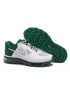 new product c05d1 c52de Nike Air Max 2013 Herr Grön Vit SE055076