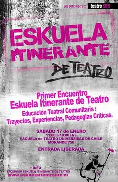 Primero Enkuentro Eskuela Itinerante