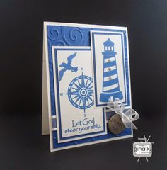 Sean Fetterman Designs...OOO I really like! | lighthouse | nautical | masculine