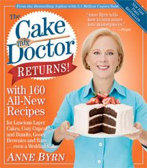 "I am soooo excited.  A new ""Cake Mix Doctor"" book with 160 new recipes!!!!  gotta find this soon!"