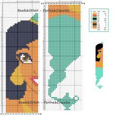 Jasmine - Disney pattern