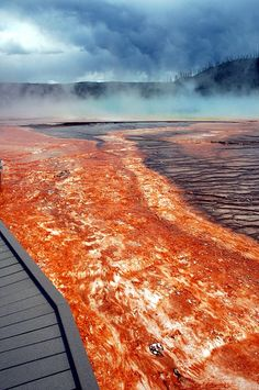 Yellowstone Hot Springs - Yellowstone, Montana