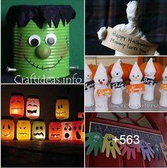 guirlande mains monstres pour halloween