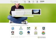 Some of Click Apps web designs.  E-Learning website