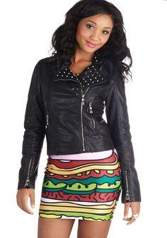 I Love Amp Jacket, #ModCloth