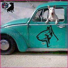 Naklejka Psiakrew Bull Terrier