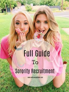 It's about that time! Recruitment is right around the corner for all sorority girls and I've gather all of my tips, experiences, and outfit ideas in today's