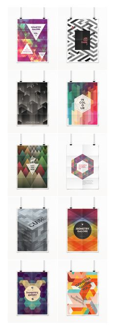Isometry Galore 1 by spacelab on Creative Market