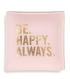 Happy pink drop-tray