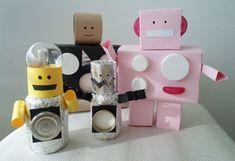 Askarteluvinkki: Näin rakennatte luokkaanne omat Milli-robotit Usb Flash Drive, Usb Drive
